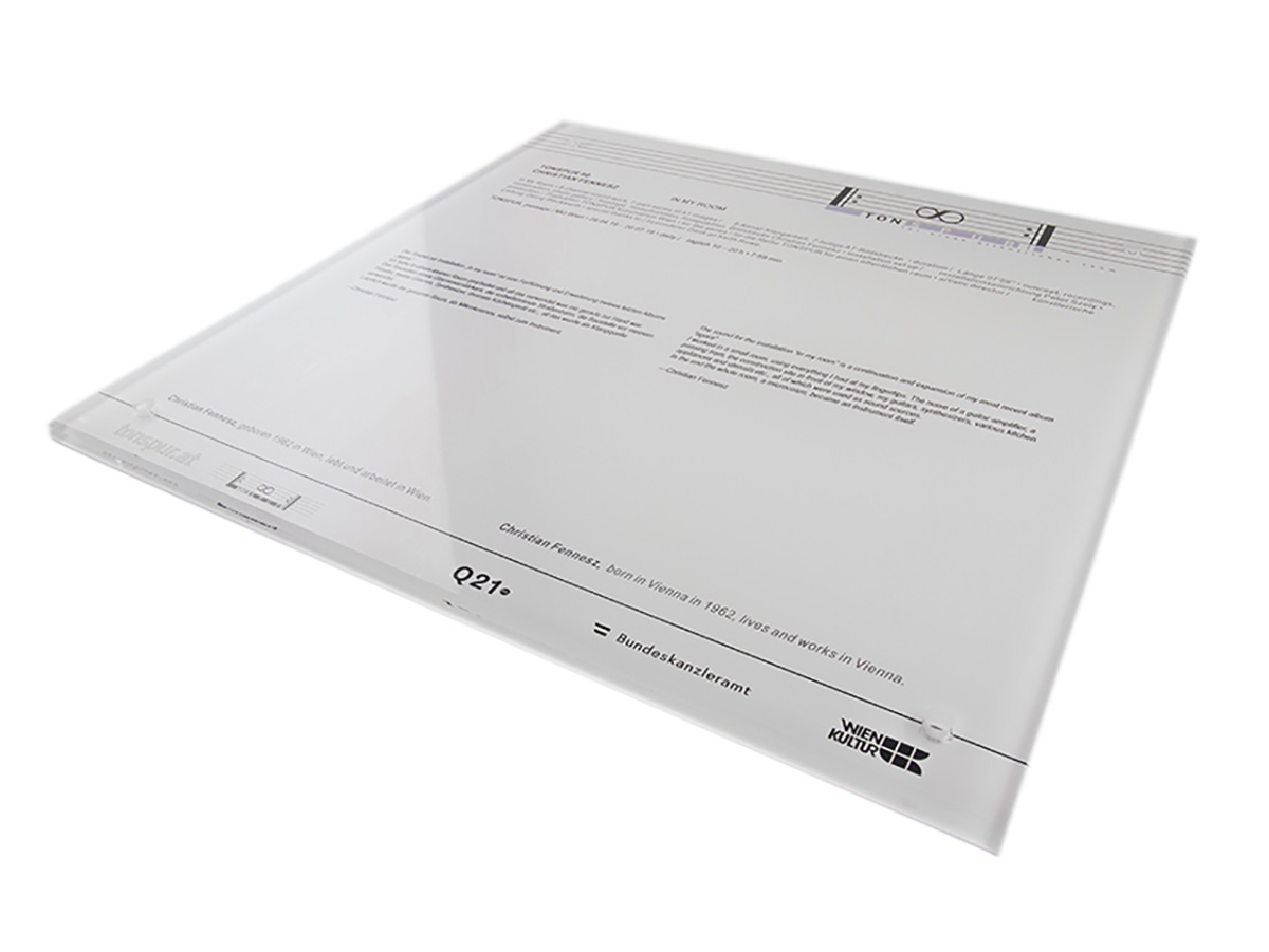 Award - Acrylglas mit Digitaldruck - Karas Wiener Schilderwerkstatt
